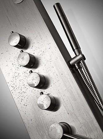 llaves de transferencia y duchador de mano